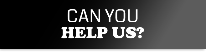Can you help us? banner